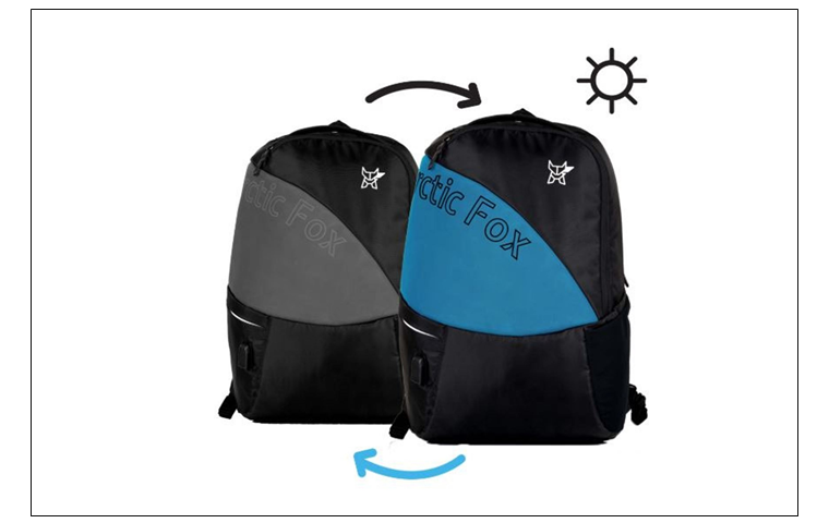 bdc2232b1c05 Bangalore based brand Arctic Fox launched World s First Colour Changing  backpacks with USB port Social